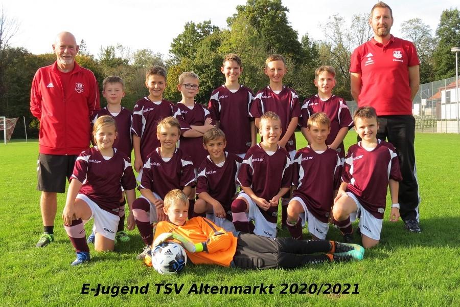 Mannschaftsfoto E-Jungend
